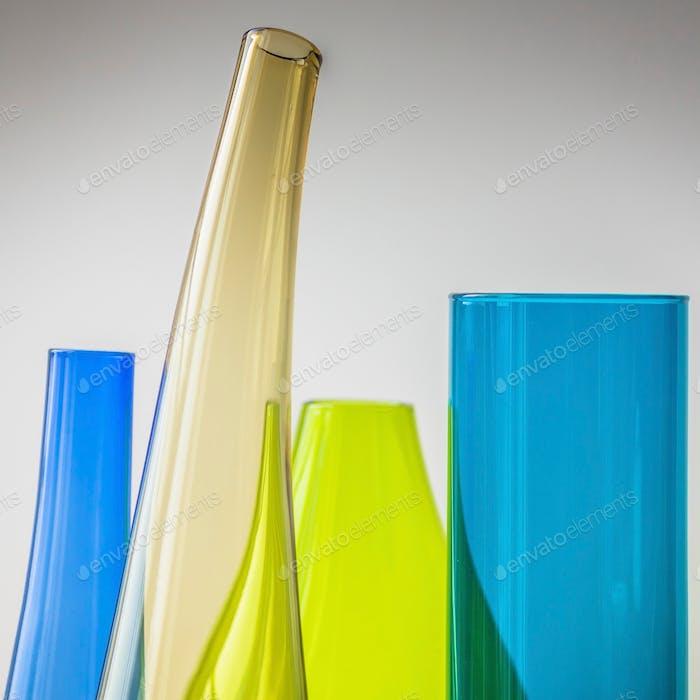 Coloured Glass Vases - Canon EOS 6D
