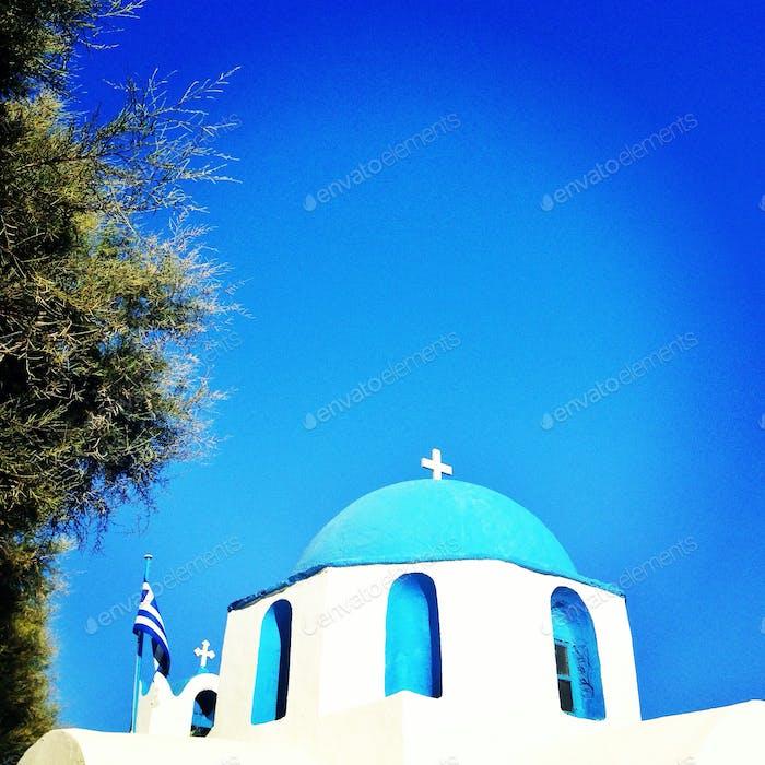 Kirche in Kykladen