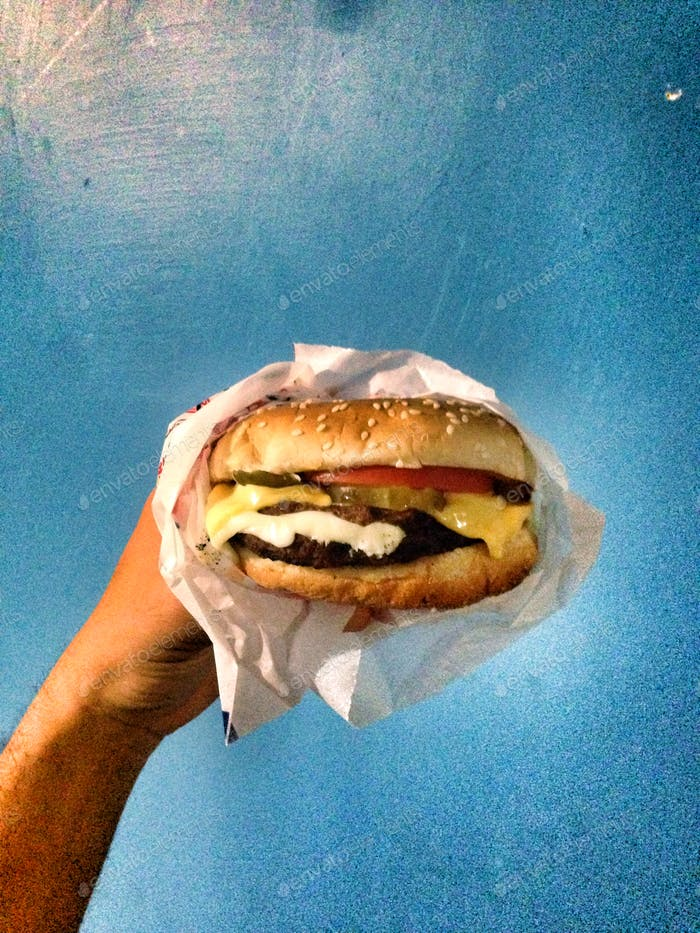 A burger is great once in a while.