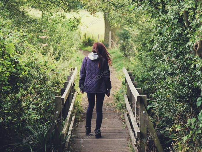 Land-Spaziergänge