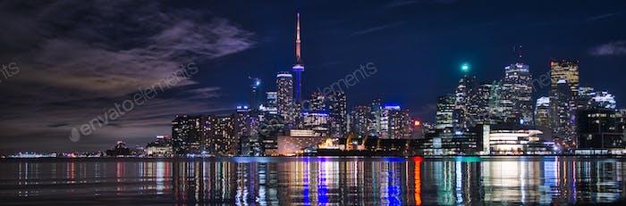 Toronto Nighttime Skyline