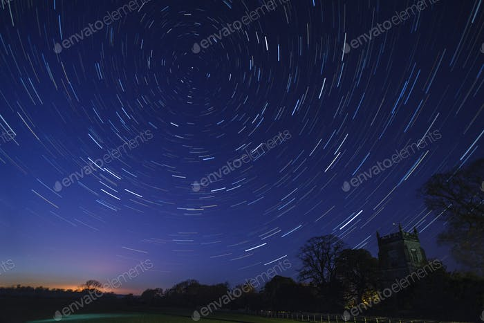 Star Trails - Astronomy
