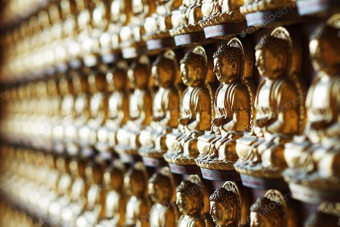 Buddhist statue. buddha statue Thailand