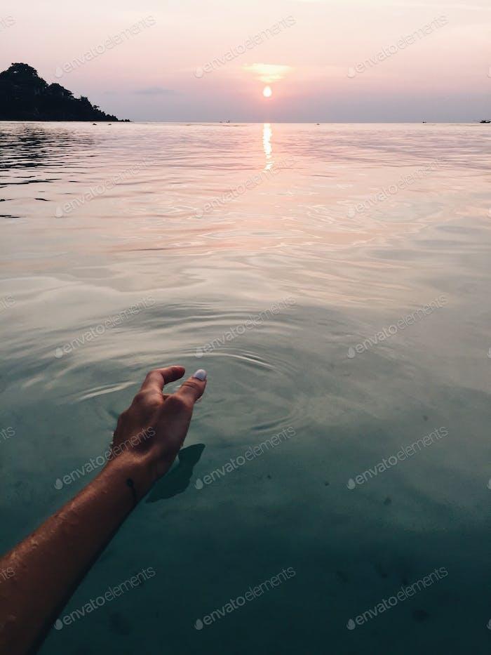 Das große ruhige Wasser