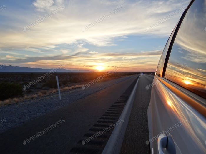 Sunset Death Valley