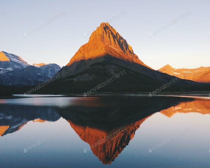 Montaña Grinnell, Parque Nacional Glaciar, Montana.