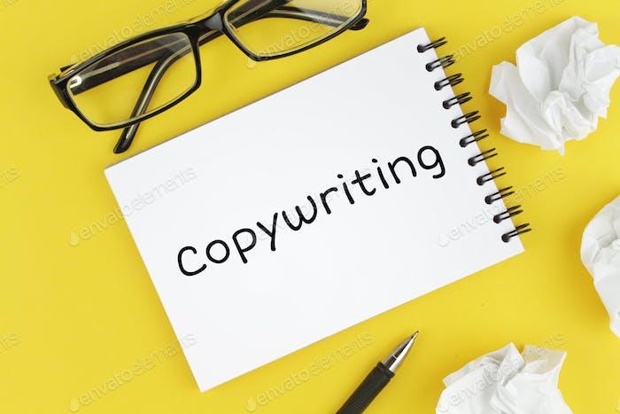 Inscription copywriting