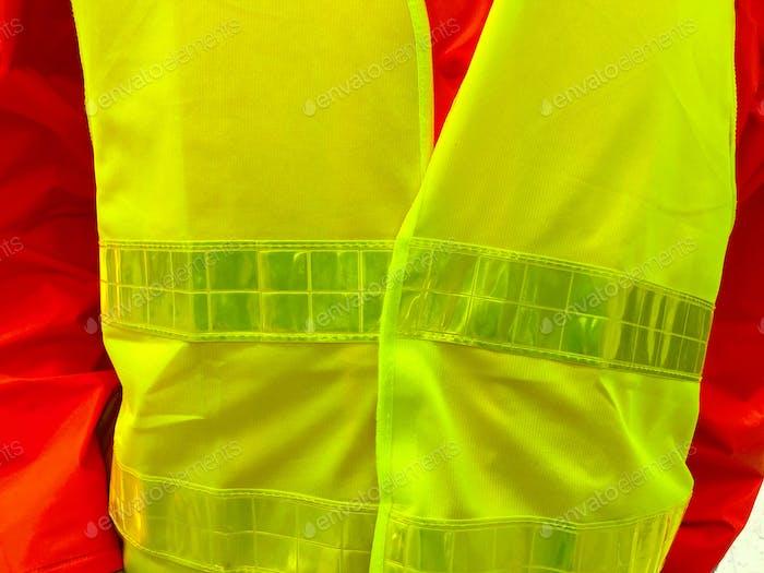 Safety vest for visibility
