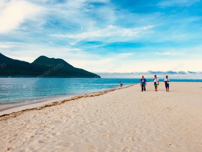 Strolling in the beach... Camiguin!