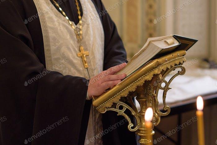Orthodox Church. Orthodox priest