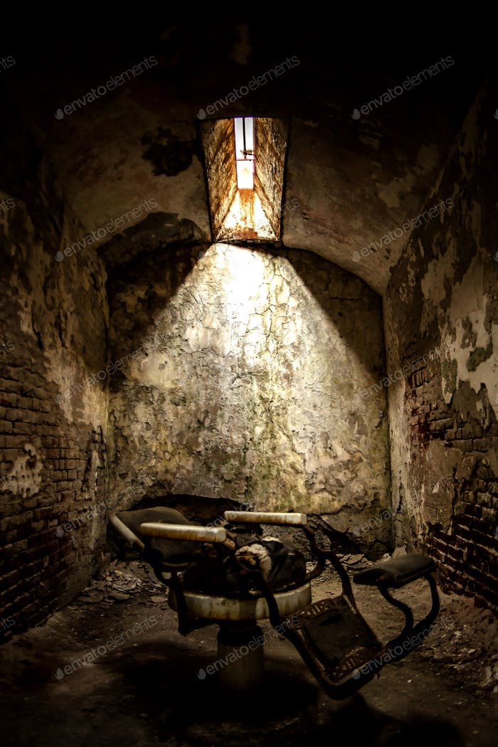 Antigua cárcel espeluznante