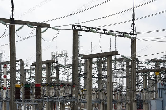Power plant is a station of transformation