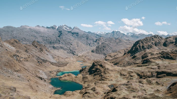The heart of the Andes.