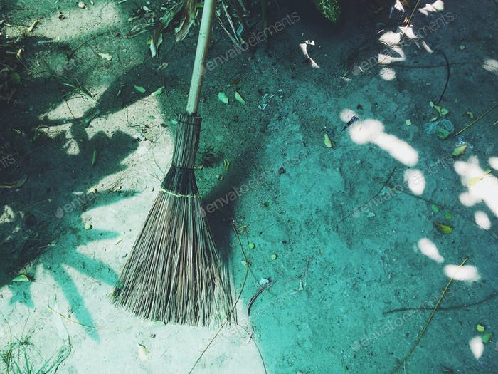 Lonely broom
