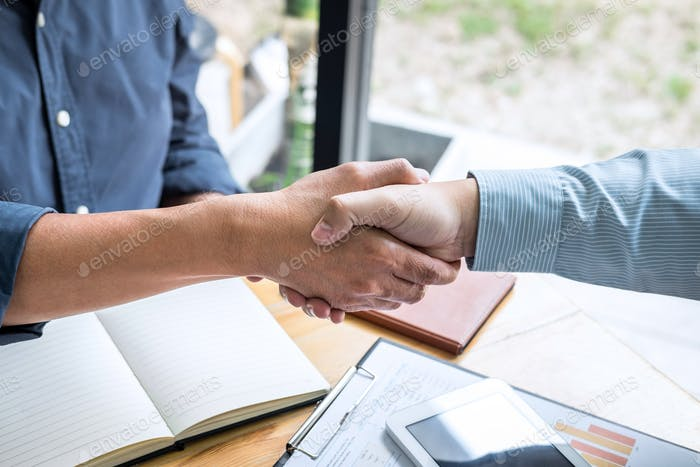 Successful of business deal