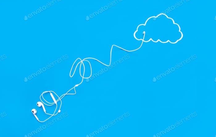 Cloud-Streaming-Konzept