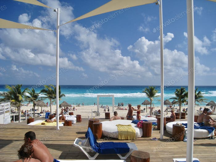 Summer vacation - Cancun Mexico.
