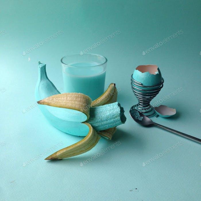 Turquoise breakfast
