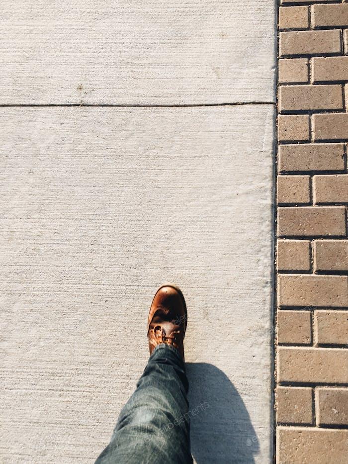 Walking in Austin, Texas