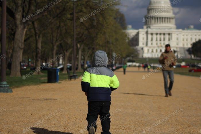 Washington DC capital hill USA