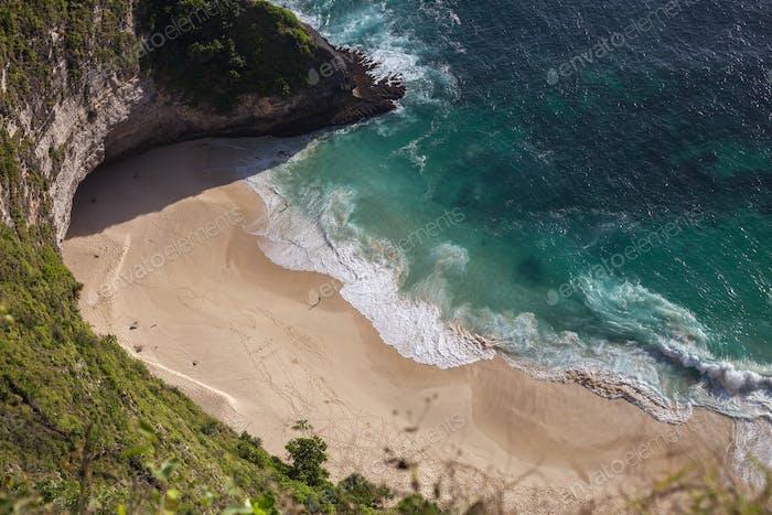 Kelingkling beach, Nusa Penida