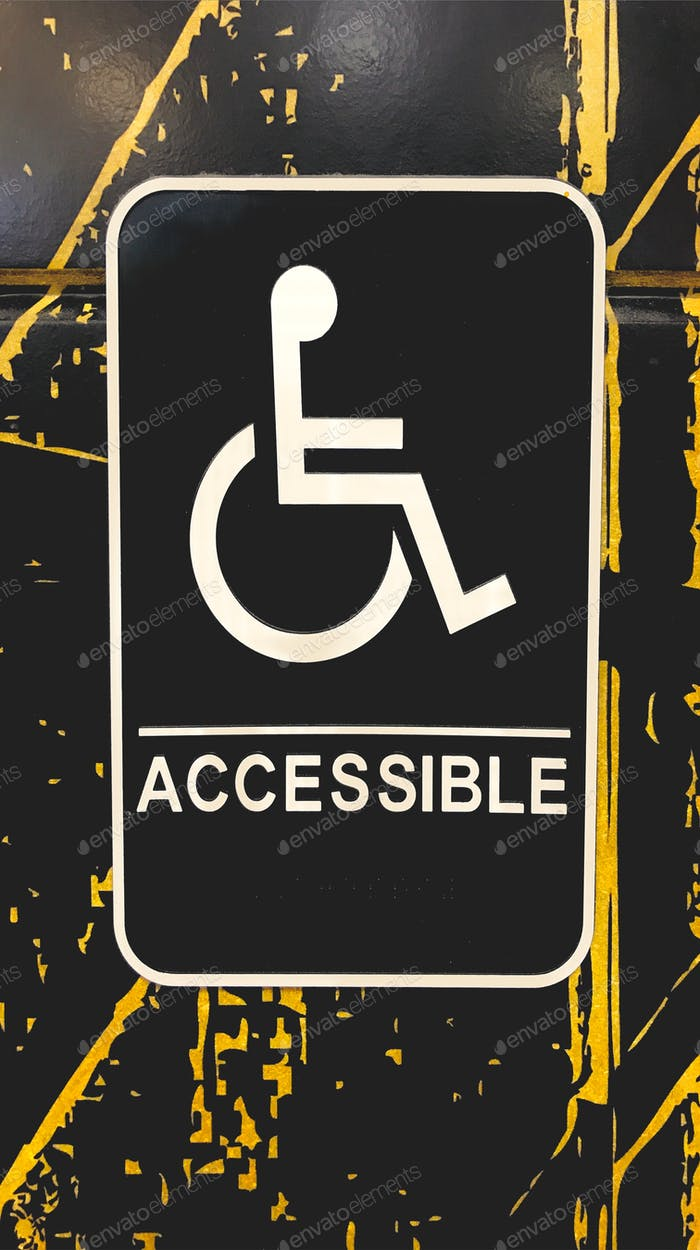 NOMINATED - Wheelchair accessible sign. tonythetigersson, Tony Andrews Photography, braille,