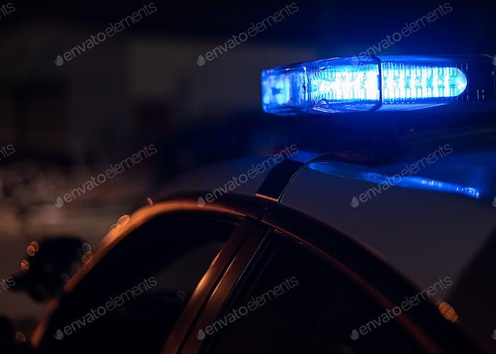 Blaues Polizeilicht