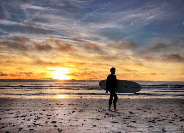 Sunset in San Diego, Ca.