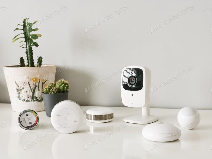 Various smart home devices