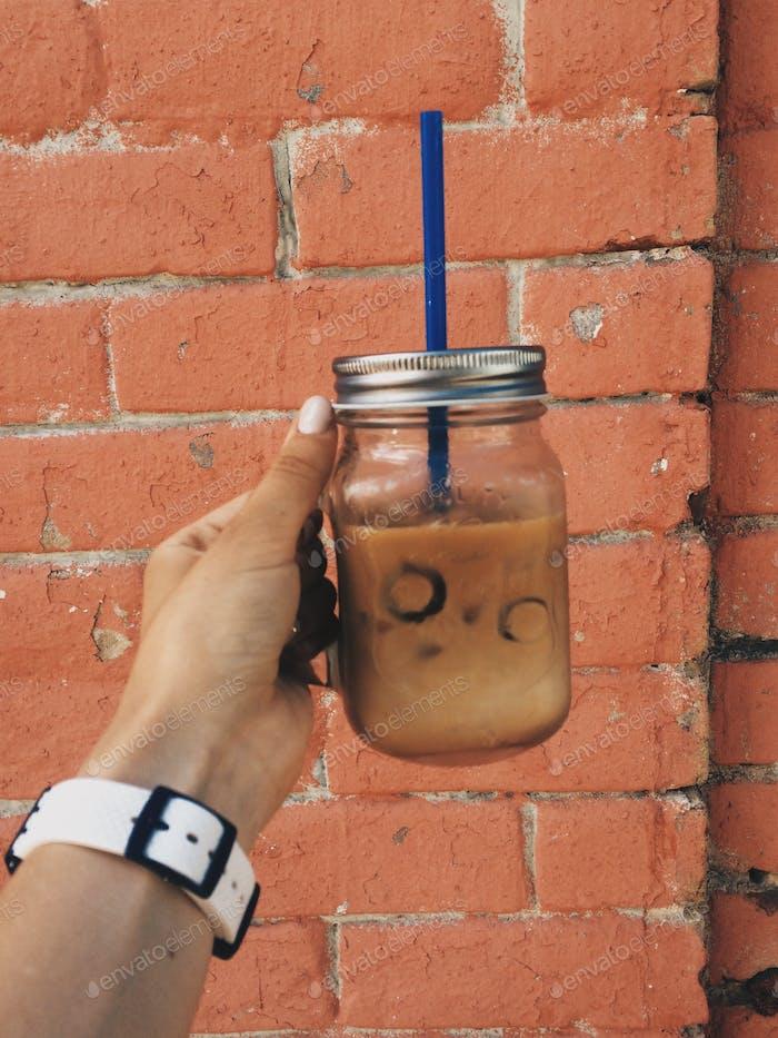 Ice latte
