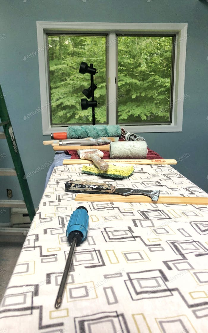 Real Estate  Painting an upstairs room with a view