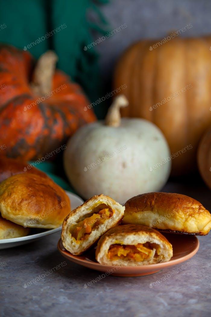 Pumpkin Autumn food.
