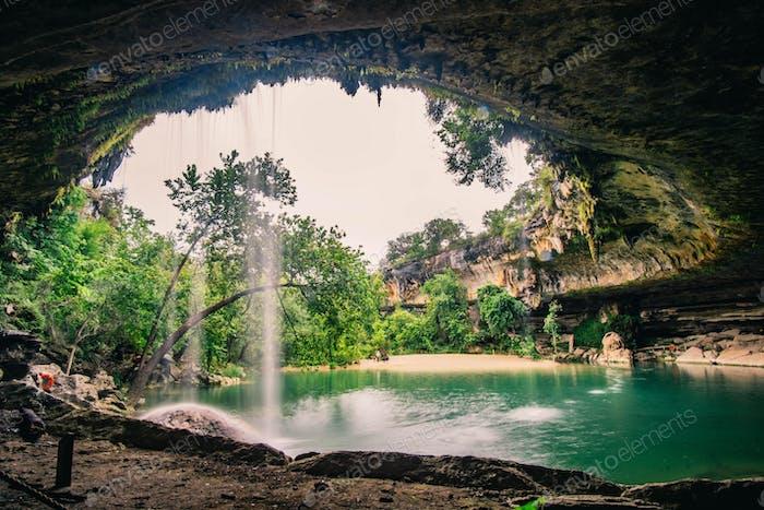 Hamilton Pool near Austin Texas
