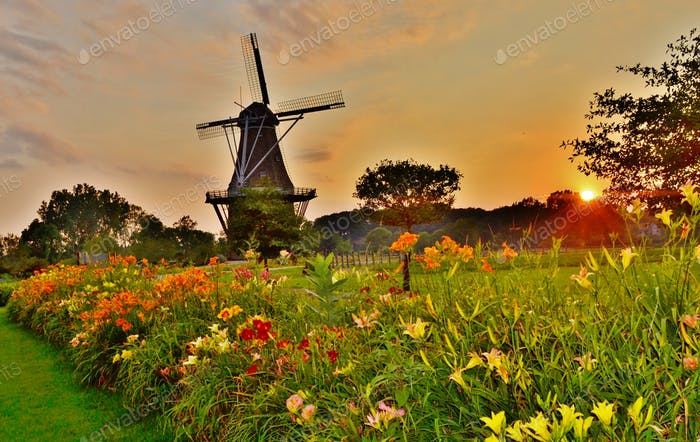 Windmühleninsel, Holland Michigan