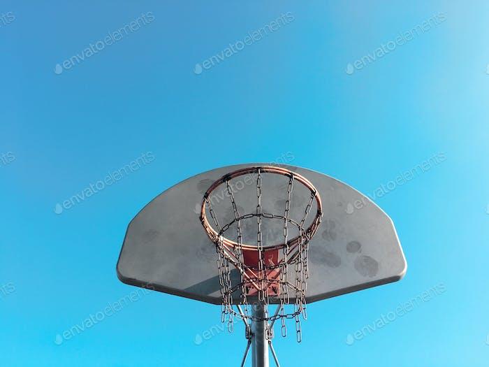 Hoops - blue sky