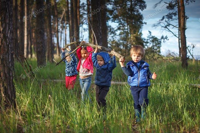 Kids touristic community