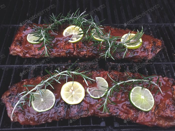 My famous TonyTheTigersSon homemade secret recipe barbecued ribs