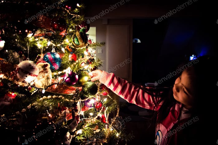 Innocent Christmas Happiness