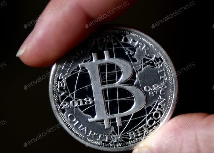 Token Bitcoin acuñado