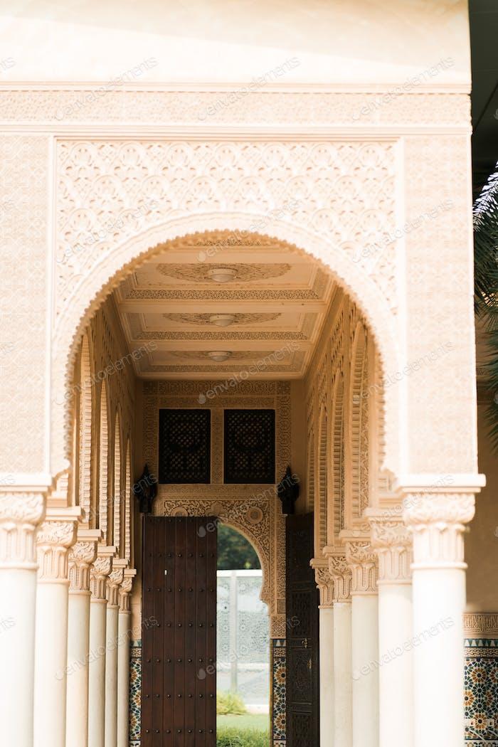 morrocoan architecture arch entrance