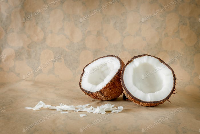 Coconut and natural light