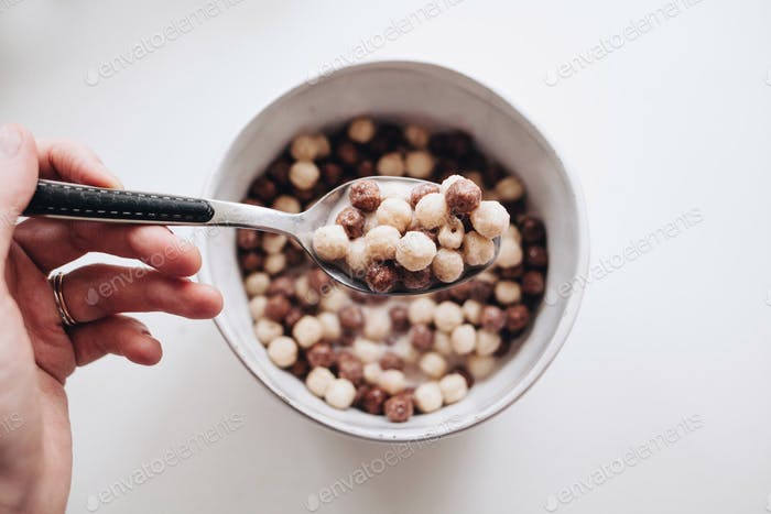 Cereal die breakfast