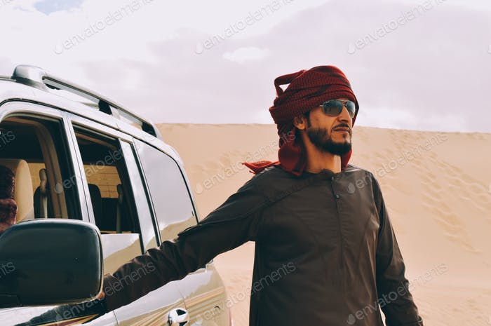 Off-road in the desert