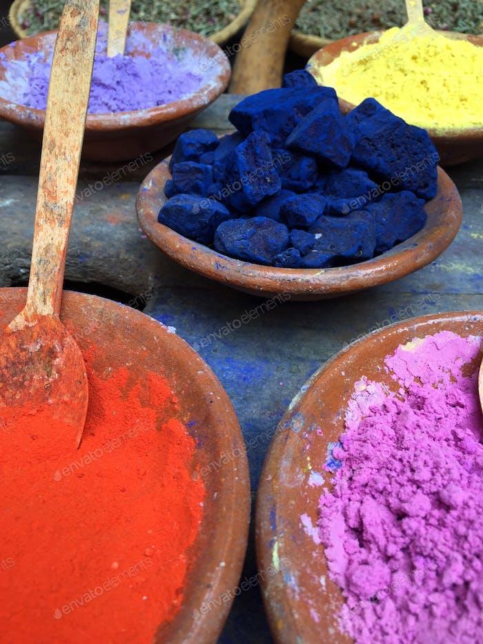 Marrakesch Farbstoff