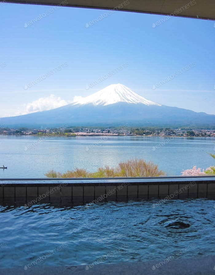 Hot spring view