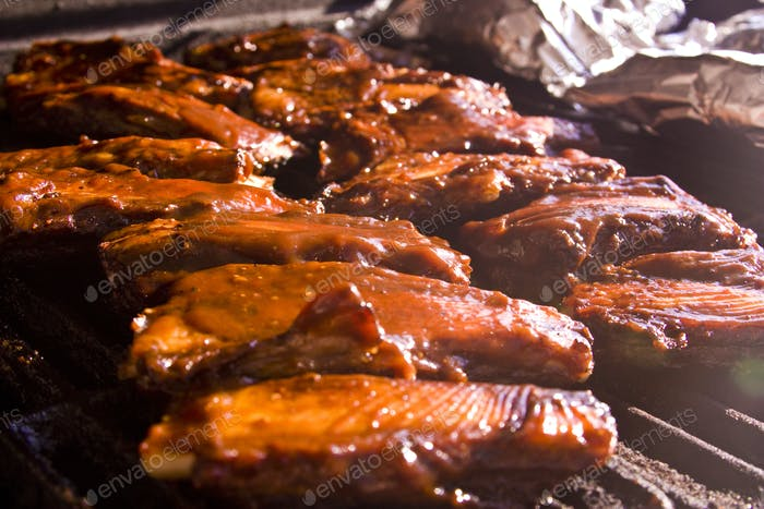 Barbeque Beef Ribs