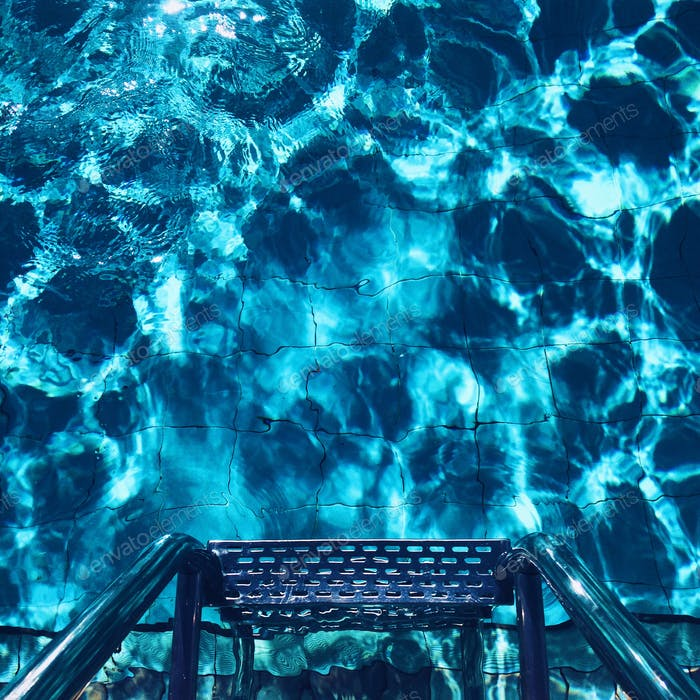vacation pool water blue texture background