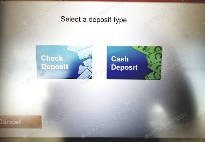 Making a Deposit Through the ATM