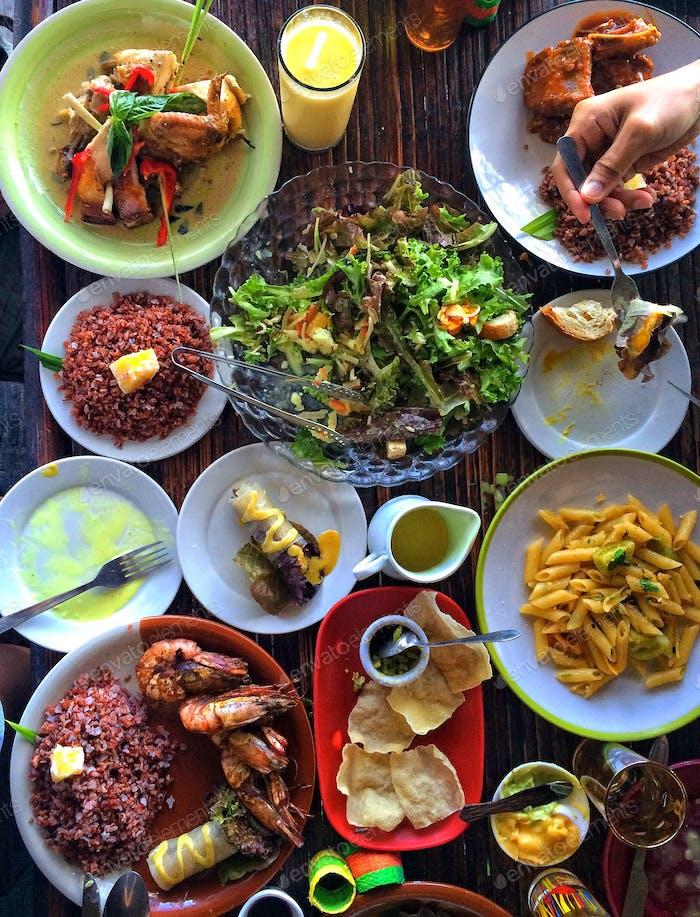 Gastronomic chaos.
