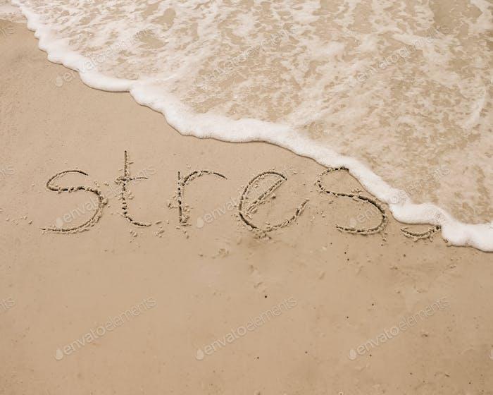 Olas que eliminan el estrés